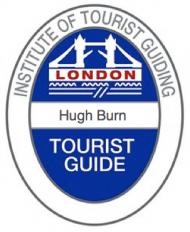 Qualified Blue Badge Guide, Hugh Burn