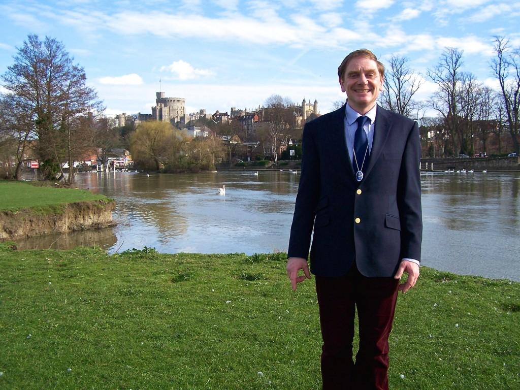 Hugh Burn, Blue Badge Guide for Windsor Tours