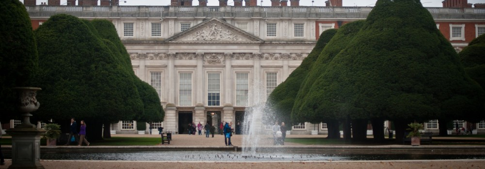 Hampton Court by Cami Burn, for Windsor Tours with Blue Badge guide Hugh Burn